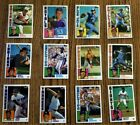 1984 Topps Traded Tiffany partial set 95 132 RC's HOFer's