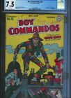 Boy Commandos  15 CGC 75 Off White Pages UnRestored