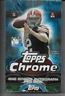 2013, 2014, 2015 Topps Chrome Sealed Hobby Boxes, Ertz, Garoppolo, Winston. Auto