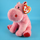 TY BIG KISS the HIPPO BEANIE BABY 6