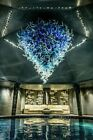 Dale Chihuly 2k piece Chandelier 12x12 Includes Install worldwide Glass Art B O