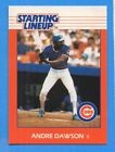 1988 Kenner Starting Lineup Card Andre Dawson Cubs