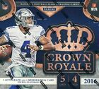 2016 PANINI CROWN ROYALE FOOTBALL RETAIL BOX NEW FACTORY SEALED