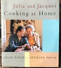 Julia and Jacques Cooking at Home SIGNED Stated 1st Ed HB DJ VG++