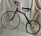 RARE 1890s Strap Steel TRICYCLE W Kelly Adjustable handlebars 16 Front Wheel