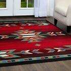 Aztec Indian Rug Decorative Native Southwest Area Accent Rustic Home Office Room