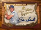 2006 Upper Deck Place in History Signatures Ron Santo Auto Signed Card PH-R02