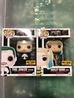 Funko Pop Suicide Squad Joker And Harley Hot Topic Exclusive (both Pops Included