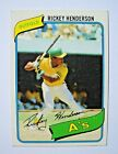 Rickey Henderson Cards, Rookie Card and Autographed Memorabilia Guide 6