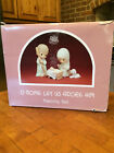 Precious Moments Nativity Scene O Come Let Us Adore Him Extra Large 9 Inch 1987