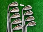 PING G10 Left Hand Irons 3 W  S AWT Stiff Steel Green Dot 225 Upright