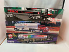 Texaco Toy Tractor Truck With Tanker Trailer 3 Piece Lot 1994 1995 Olympic