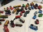 Thomas The Train Wooden Train Lot 70+ Trains Hard To Find Great Paint EUC NR