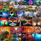 2020 Full Diamond Painting Embroidery Cross Stitch Pictures Craft Kit Scenery US