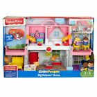 Fisher Price Little People Big Helpers Home Imaginative Play House Pink