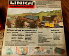 Linka Model Building System Set 8415 HO Scale Stonework Building Set