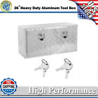 24-36 Aluminum Truck Underbody Tool Box Trailer Rv Tool Storage Under Bed Us