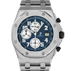 Audemars Piguet 25721 F Royal Oak Offshore AP ROO BLUE THEMES Stainless Steel