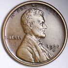 AU 1920 S Lincoln Wheat Cent Penny FREE SHIPPING