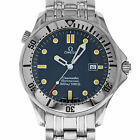 Omega 2542.80 Seamaster SMP 300M Blue Quartz Stainless Steel Swiss Diver Watch
