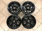 1 set Of 4 Refinished 14 x 6 Oldsmobile Cutlass F85 and Omega Wheels