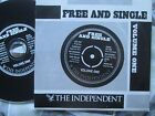 Free And Single Volume One Various Artists  The Independent UK Promo CD Sampler