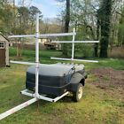 Pulmor Storage Canoe Kayak Trailer