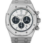 Audemars Piguet 26331 J Royal Oak Chronograph AP ROC 26331ST Panda Steel Swiss