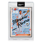 Topps PROJECT 2020 Card #8 - 1992 Mariano Rivera Sophia Chang - Artist Proof 20