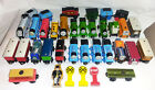 Lot of 38 Piece Wooden Thomas Train, Trains, Signs, Conductor