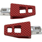 Thrashin Supply Red P 54 Extra Grip Foot Pegs Footpegs Harley 18+ Softail