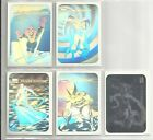 1990 Marvel Universe: Series 1 COMPLETE SET of 5 Holograms Chase Cards (MH1-MH5)