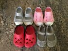 Lot Of Toddler Girls Shoes Size 4 5 Native Mini Melissa And Crocs