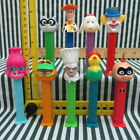 Lot of 9 Pez Dispensers / Toy Story / Bozo Clown / Trolls / Lamb / And More