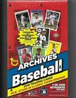 2019 TOPPS ARCHIVES BASEBALL HOBBY BOX FACTORY SEALED NEW