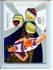 2008-09 Upper Deck Exquisite Steve Nash Triple FILTHY 4clr Patch 2 10 Game Used