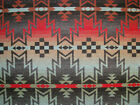 Ralph Lauren Tribal Fair Native Western Pattern Wool Fabric Remnant Sample