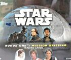 TOPPS STAR WARS ROGUE ONE-MISSION BRIEFING FACTORY SEALED BOX