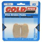 Front Disc Brake Pads for Gas Gas TXT300 Pro 2014 300cc By GOLDfren