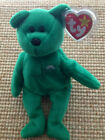 TY Beanie Baby DUBLIN the Bear with tag protector Brand New 1st Class Shipping