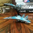 New 1 100 Russia SU 35 Super Flanker Military Airforce Aircraft diecast model