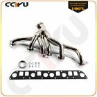 MANIFOLD HEADER EH FOR 91 92 JEEP WRANGLER CHEROKEE 40L TJ STAINLESS SS RACING