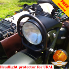 For URAL headlight guard cover Dnepr headlight protector for URAL Gear Up