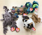 TY Beanie Babies 2 Of Each, Bernie, Hissy, Claude and Stinger, All With Tags