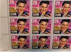 US 2721 29c Elvis Presley Sheet of 40 llposition Perfect Face Val1160