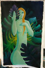 Very Big size Original Acrylic Painting Flora Odessa artist One of a kind
