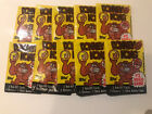 1982 Topps Donkey Kong Wax Packs Lot Of 10 Fresh From Unopened Box