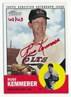 2012 Topps Heritage Real One Auto Autograph Red Ink RUSS KEMMERER 63 63