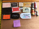 Lot Of 16 Ink Pad Pigment Inks Stampendous Kaleidacolor Fun Stamps