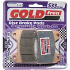 Front Disc Brake Pads for Moto Morini Scrambler 1200 2009 1187cc By GOLDfren